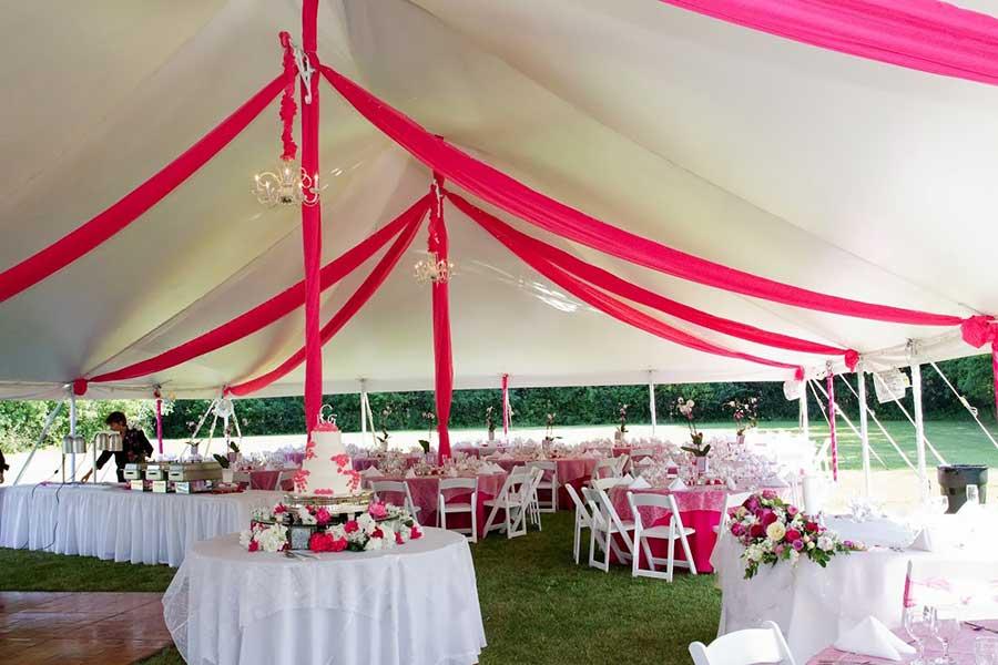 pole tent & Wedding Tent Rentals | Fairy Tale Tents u0026 Events